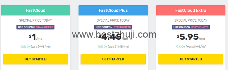 fastcomet虚拟主机优惠